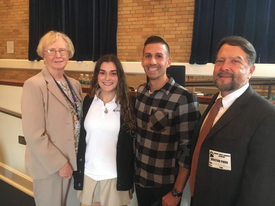Matthew Maher Addressed Mount Community About Decision-Making and Accountability