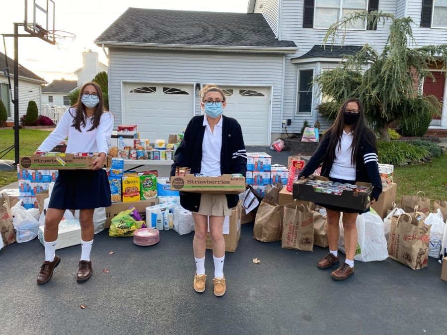 Mount Students Give Back Amidst Global Pandemic