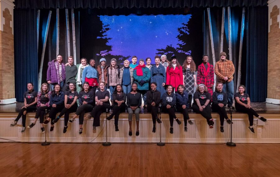 Staging Almost Maine