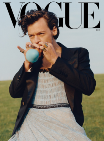 Harry Styles Challenges Masculinity in Vogue