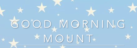 Good Morning Mount: January 4th
