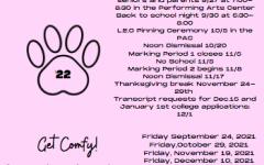 Feeling 22? Important Senior Announcements!
